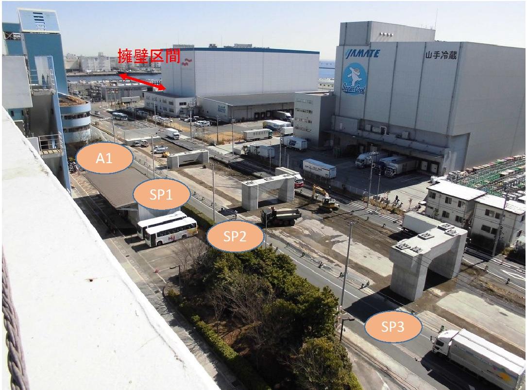 川崎港臨港道路東扇島水江町線東扇島側アプローチ部の工事進捗状況をお知らせします