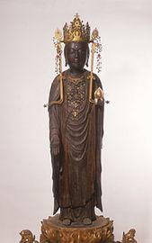 木造 虚空蔵菩薩立像