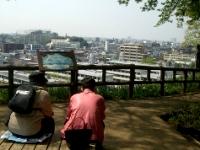 富士見デッキからの眺め